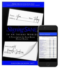 Staying Sane in an Insane World : Book