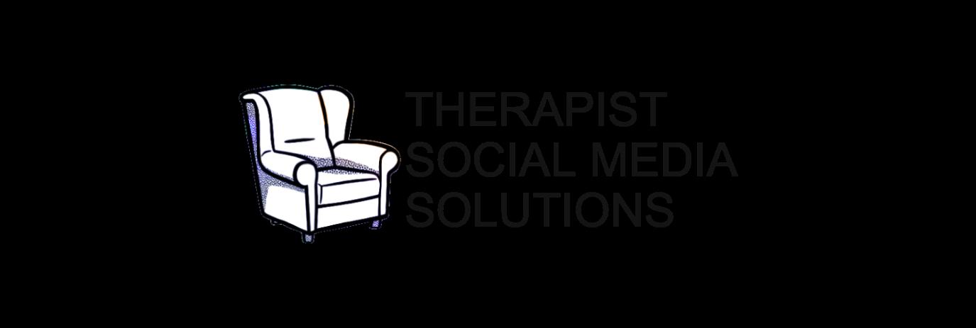 therapist social media solutions