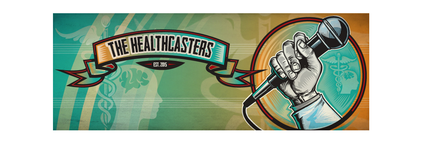 The Health Casters Logo